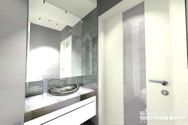 łazienka W Kamieniu Studio Bb Architekci